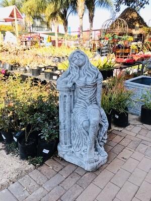 Arthene Statue Whitewash Finish - H1100mm x W500mm - 144kg