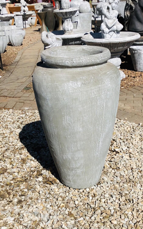 Ansie Vase Whitewash Finish - H980mm x W600mm - 45kg