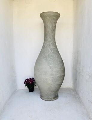 Gracelle Vase Large Plain Cement Finish - H1620mm x W600mm - 65kg