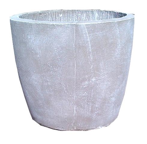 Bug Pot Medium Whitewash Finish - H400mm x W430mm - 21kg