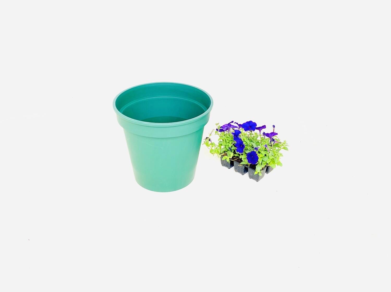 30cm Pot Green Width 30cm x Height 29cm