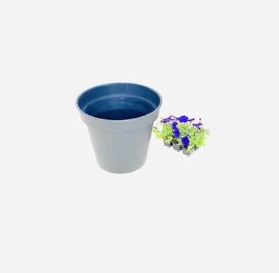 35cm Pot Black Width 35cm x Height 34cm