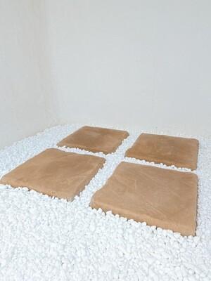 Mountain Slate Paver Soft Tan - 400x400x40mm - 12.4kg