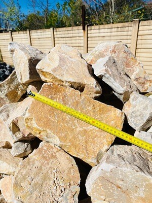 Caramel Dump Rock Stones 200-300mm (each)
