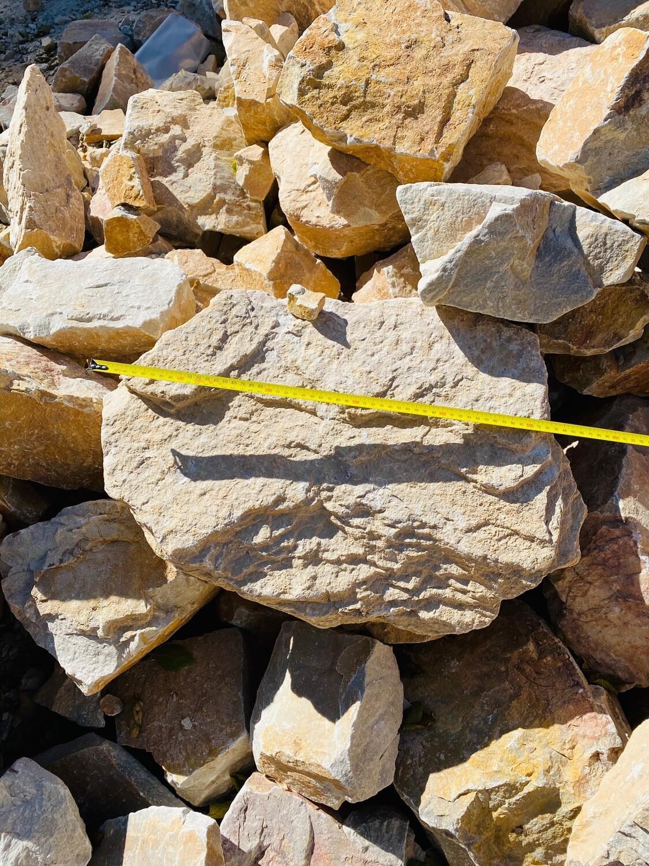 Caramel Dump Rock Stones 400-600mm (each)