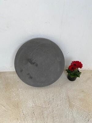 Round Stepping Stone LARGE Black - 455x50mm - 17kg