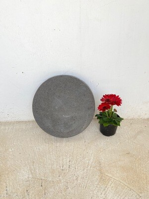 Round Stepping Stone SMALL Black - 435x50mm - 11kg