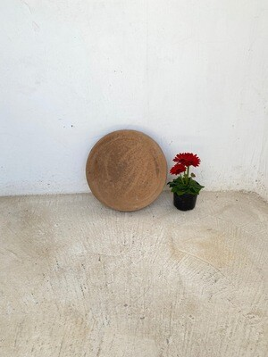 Round Stepping Stone SMALL Soft Tan - 435x50mm - 11kg