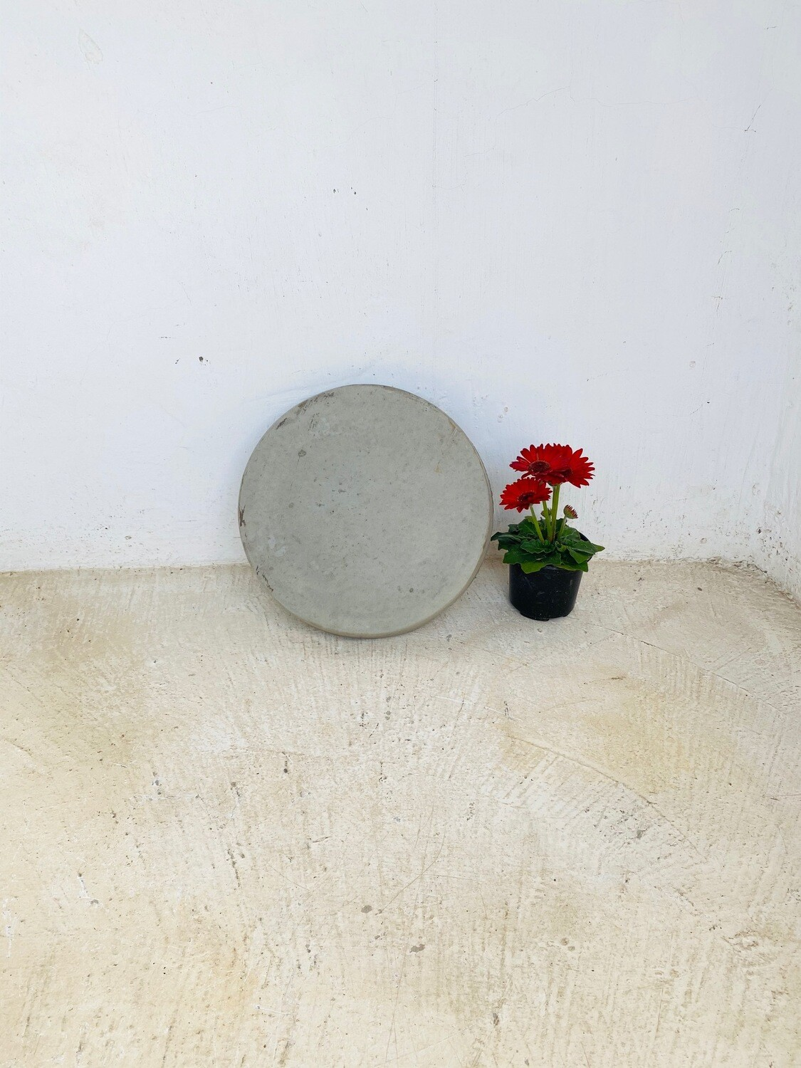 Round Stepping Stone SMALL Cement - 435x50mm - 11kg