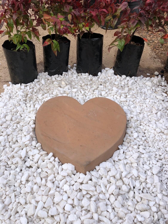 Heart Paver SMALL Soft Tan - 345x50mm - 9kg