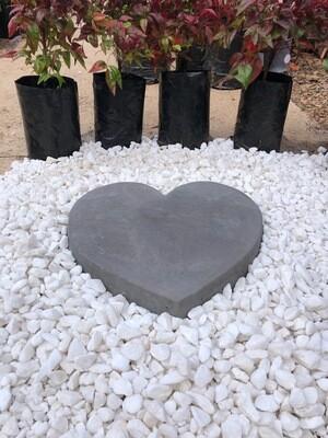 Heart Paver SMALL Black - 345x50mm - 9kg