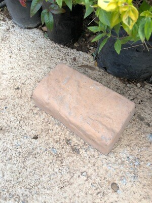 Rock Garden Edging Stone Soft Tan - 265x150x75mm - 6kg