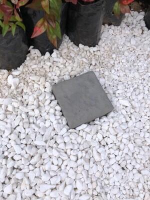 Rock Cobble Square SMALL Black - 150x150x50mm - 3kg