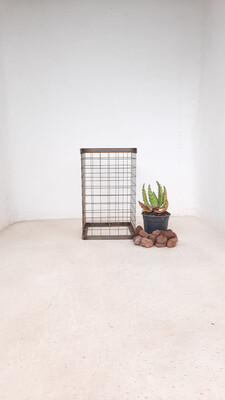 Wire Mesh Rock Planter Small H 500mm W 300mm   (excl rocks and plant)