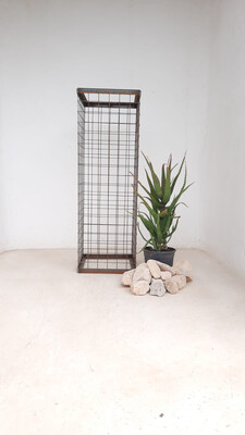 Wire Mesh Rock Planter X-Large H 900mm W 300mm   (excl rocks and plant)