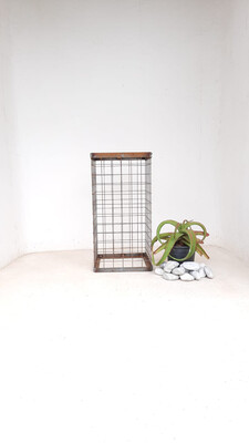 Wire Mesh Rock Planter Medium H 600mm W 300mm   (excl rocks and plant)