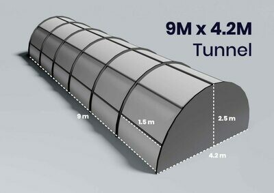 Grow Tunnel Products - 9m x 4.2m