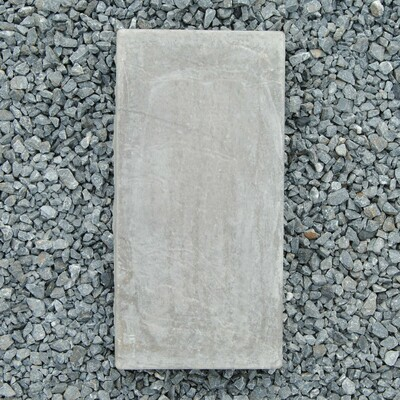 Slate Stepping Black - 400x200x50mm - 7.2kg