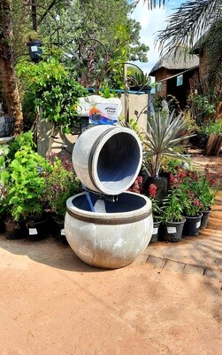 Multi Pot Large Fountain Complete with Pump Akwa 1500 - H850mm x W550mm x L550mm - 35kg