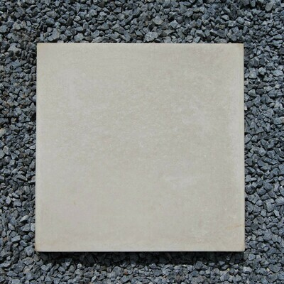 Smooth Stepping Stone Plain Cement -  450x450x50mm - 21kg