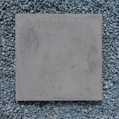 Smooth Stepping Stone Black -  450x450x50mm - 21kg