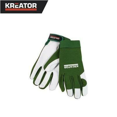 Kreator Gloves - Pigskin Green - M/L