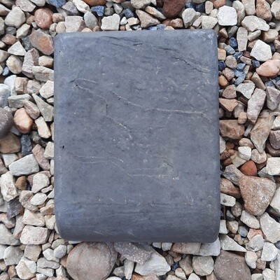 Bullnose Slate Paver Black - 200x150x50mm - 2.6kg