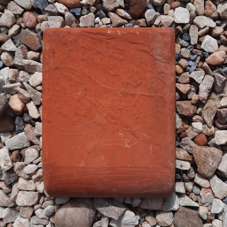 Bullnose Slate Paver Terracotta - 200x150x50mm - 2.6kg