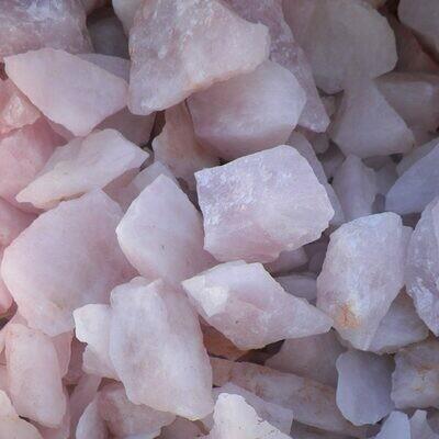Rose Quartz Small 45-70mm 300x600mm bags between 15-20kg