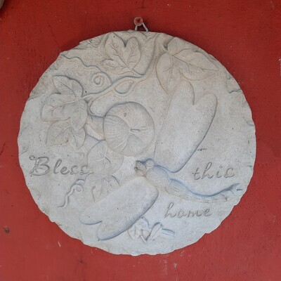 Bless This Home Wall Plaque - L210mm x H125mm