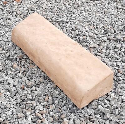 Bullnose Garden Edging Stone LARGE Golden Tan - 445x125x80mm - 8kg