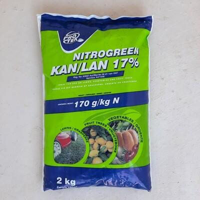 Protek Nitrogreen Kan/Lan (17%) 2kg