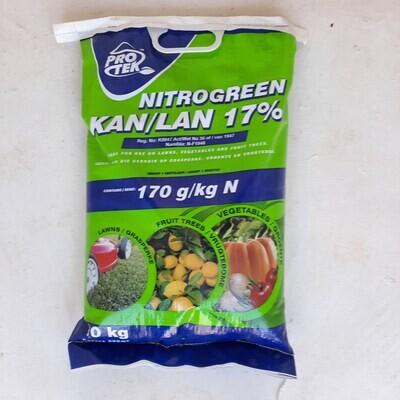 Protek Nitrogreen Kan/Lan (17%) 10kg