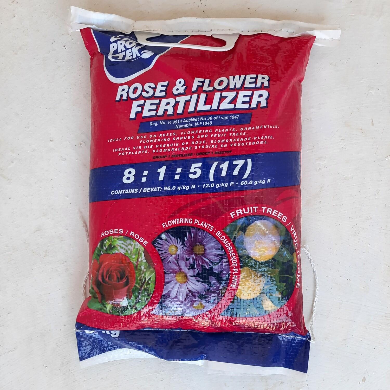 Protek Rose & Flower Fertilizer 8:1:5 (17) 5kg