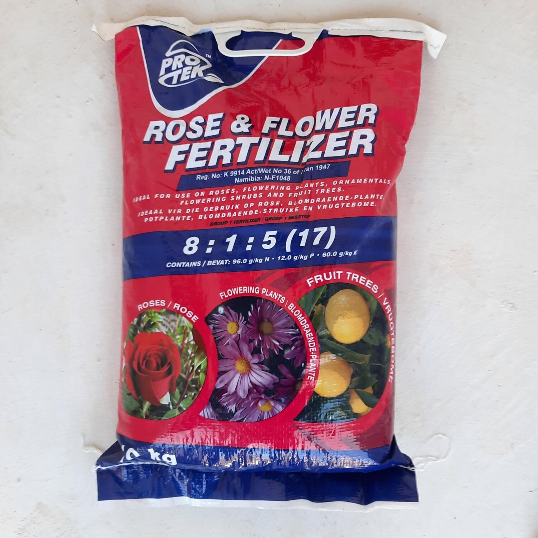Protek Rose & Flower Fertilizer 8:1:5 (17) 10kg