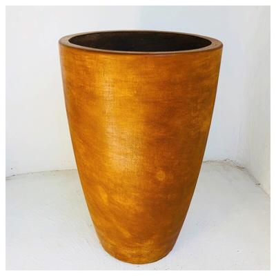 Lechuza Planter Honeyclay Finish - H760mm X W475mm - 28kg