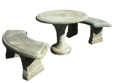 Classic Table Set Small - 8 Piece - Table W1000mm - 480kg
