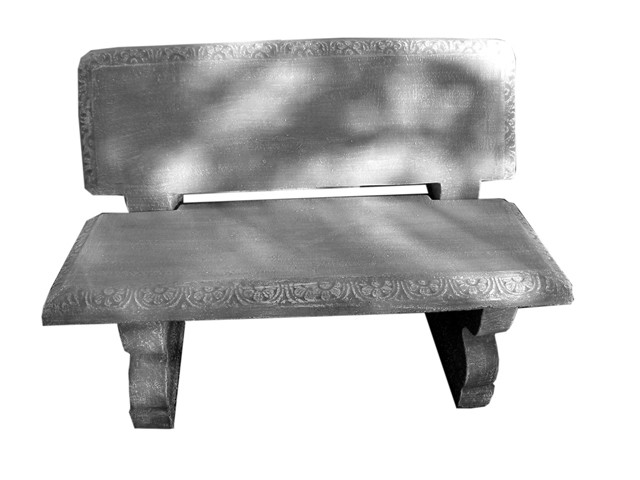 Corinth Two Seater Bench - 4 Piece - L1105mm x W440mm - 280kg