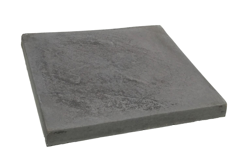 Slate Stepping Black - 450x450x50mm - 14.6kg