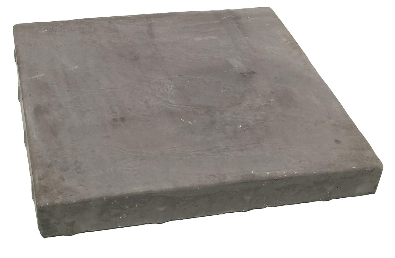 Slate Stepping  Black - 400x400x50mm - 14.4kg