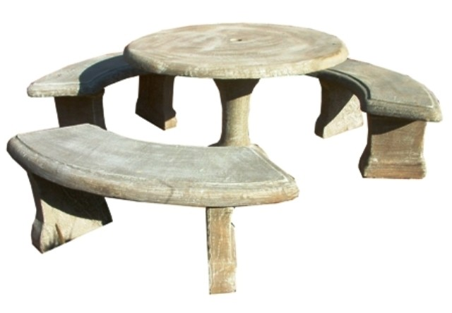 Classic Table Set Large - 11 Piece - Table W1200mm x H720mm - 667kg