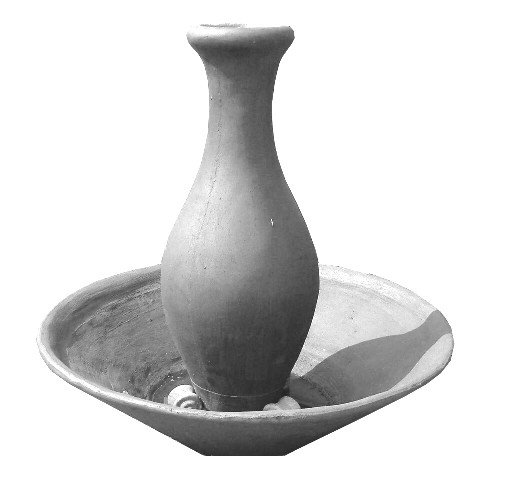 Gracelle Water Feature X-Large Weathered Grey or Weathered Brown Finish - H1620mm x W1203 mm - 185kg