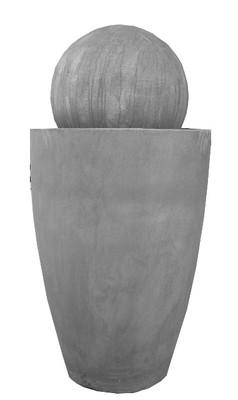 Bergmann's Fountain White Wash Finish H1410mm W630mm  60kg