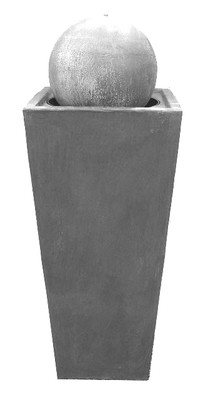 Square Slim Pot Ball Fountain Large 1100mm