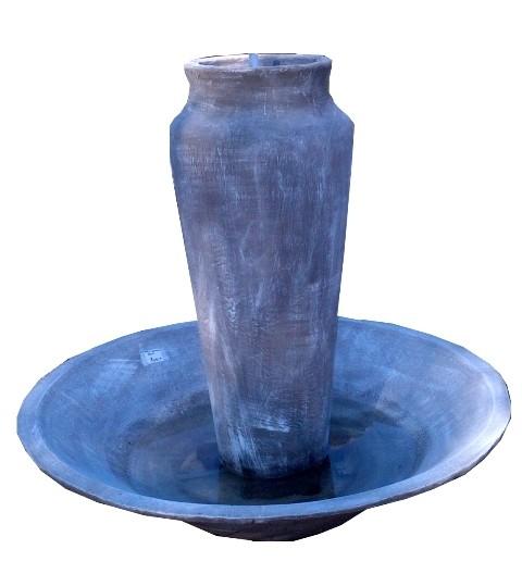 Monaco Jar Round Base Fountain