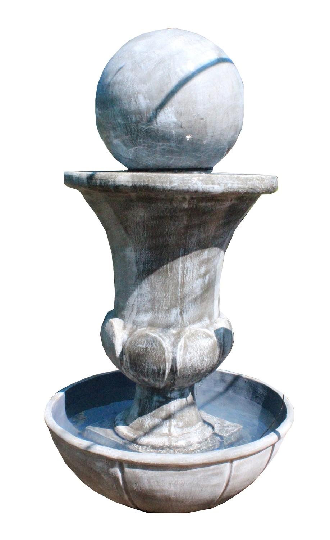 Joshua Urn Ball Fountain in Josh Bowl Large