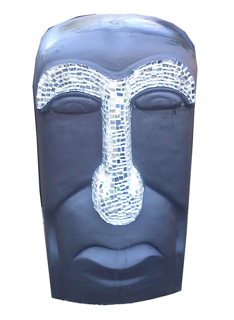 Island Face Mirror Mosaic - H800mm