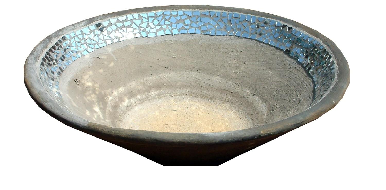 Fountain Bowl Mirror Mosaic - H305mm x W1230mm - 120kg