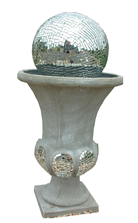 Joshua Urn Ball Fountain Small Mirror Mosaic - H700mm