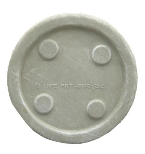 Drip Tray Large Round Whitewash Finish - W420mm - 15kg